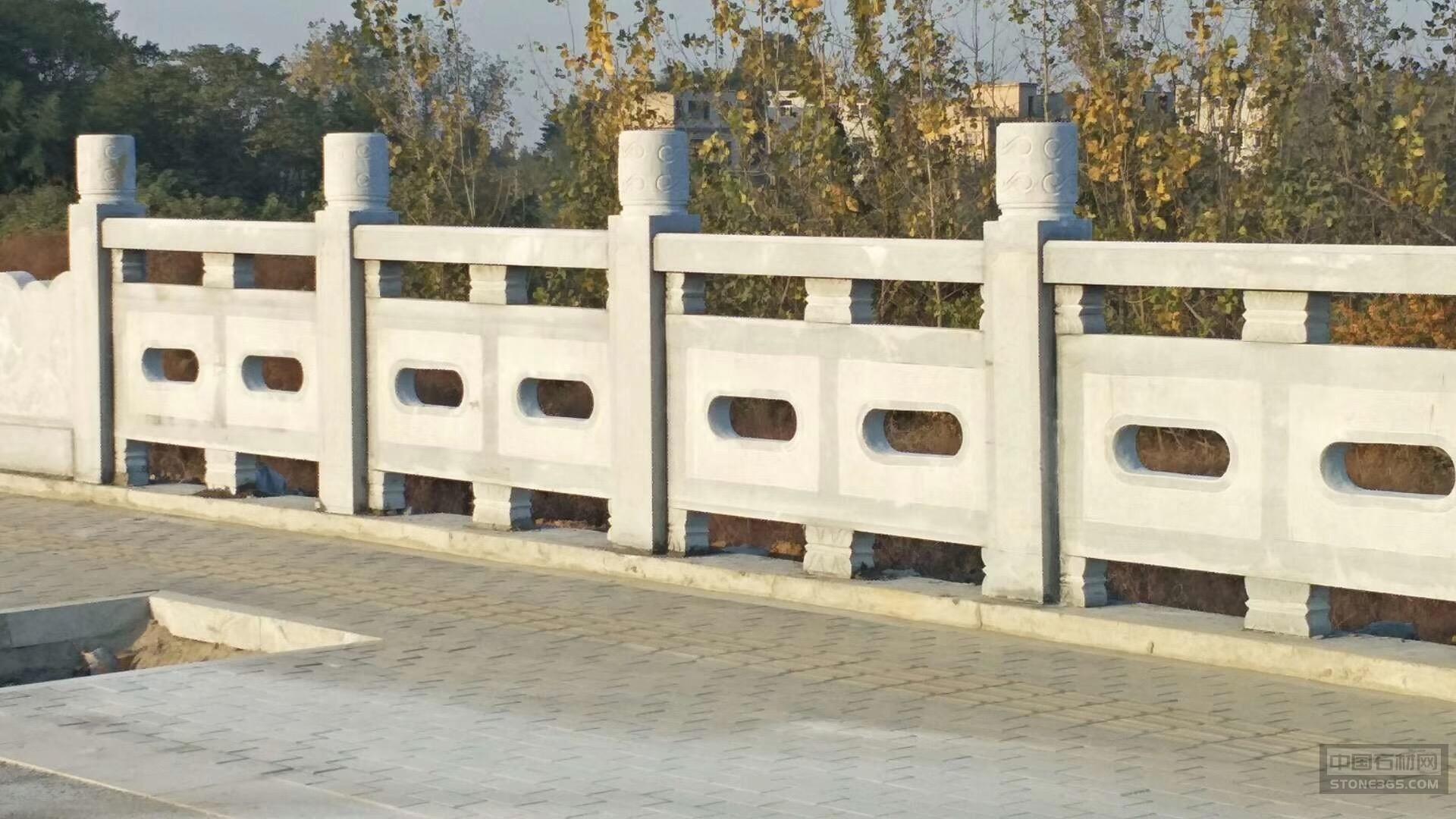 芝麻白桥栏杆