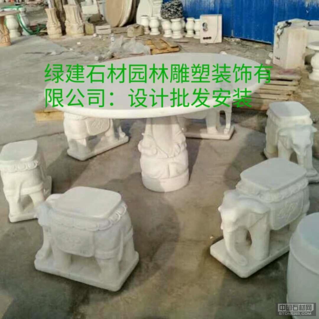 石桌,石凳,亭子,等各种石材