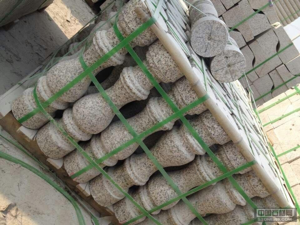 山东锈石异型柱子扶手
