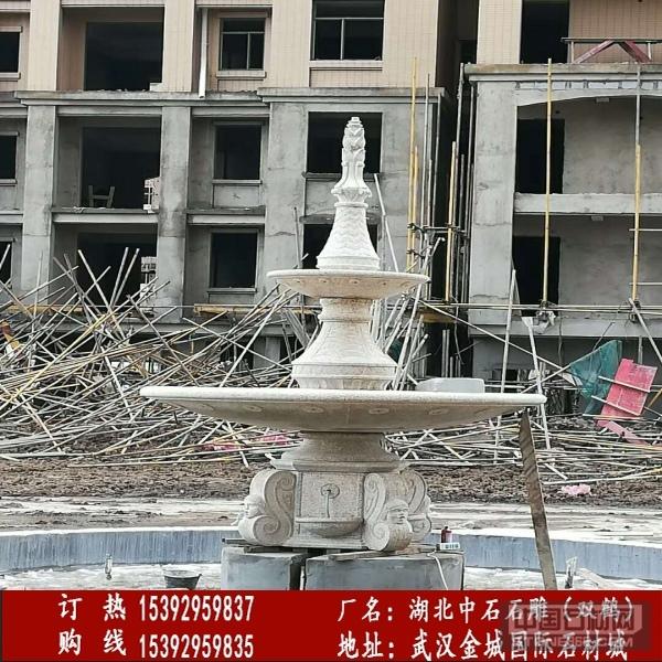 黄金麻喷泉雕刻