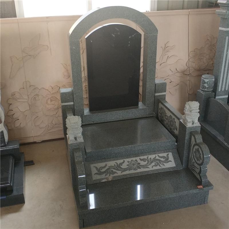 供应中国黑欧式陵园墓地碑