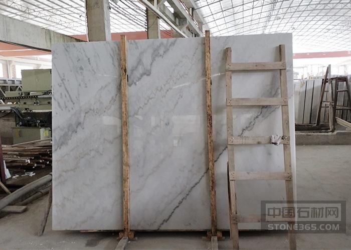广西白大理石条纹大板