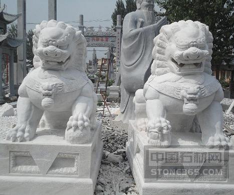 供应现货这力量主要是在于平衡批发手工雕刻石狮子