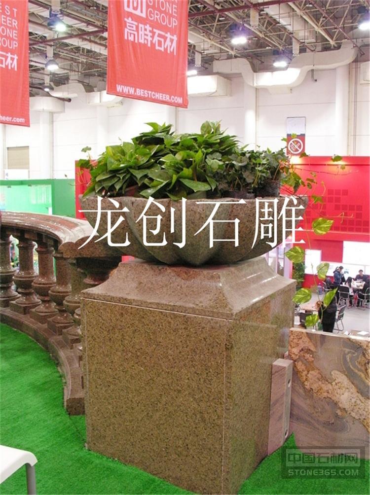 花钵石雕的使用 石雕花钵的作用