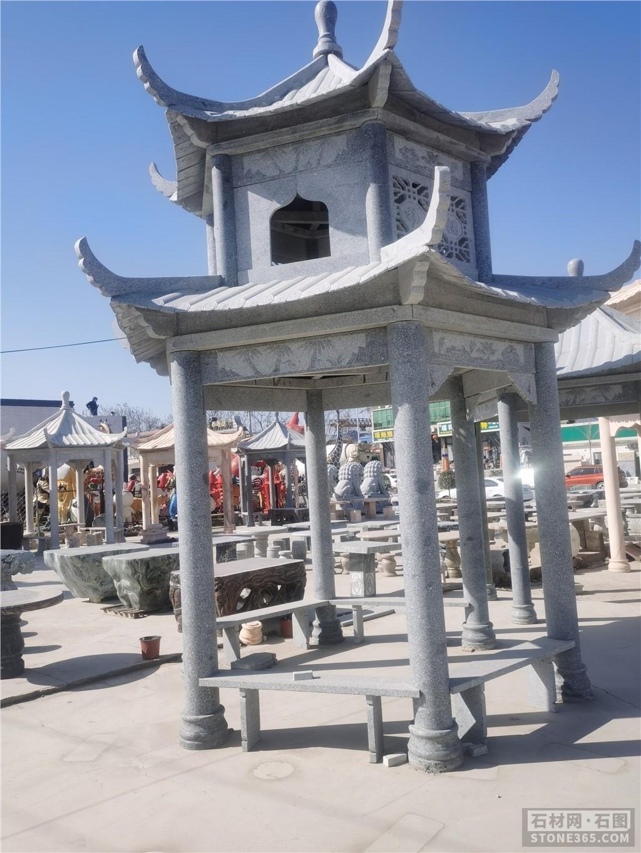 免费在线观看的黄片景观雕塑 石凉亭