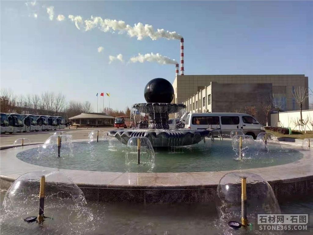 供应喷泉雕塑 风水球