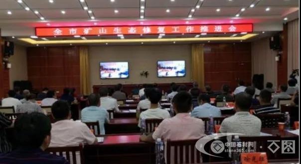 九江市召开石材矿山生态修复工作推进会