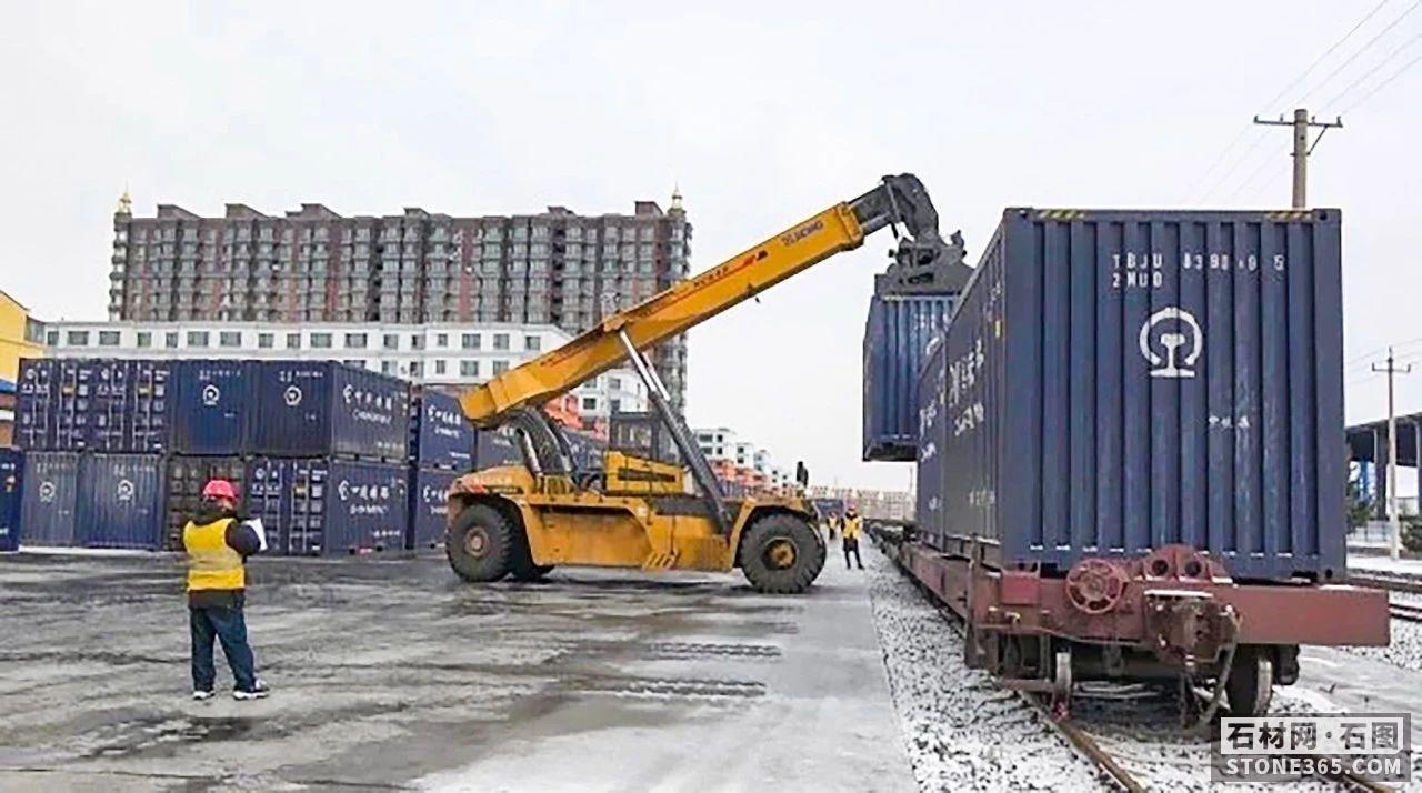 吉林天岗石材铁路货运站正式注册,给东北亚石都插上一双钢铁翅膀!