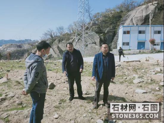 随县县领导带队督导矿山生态修正作业