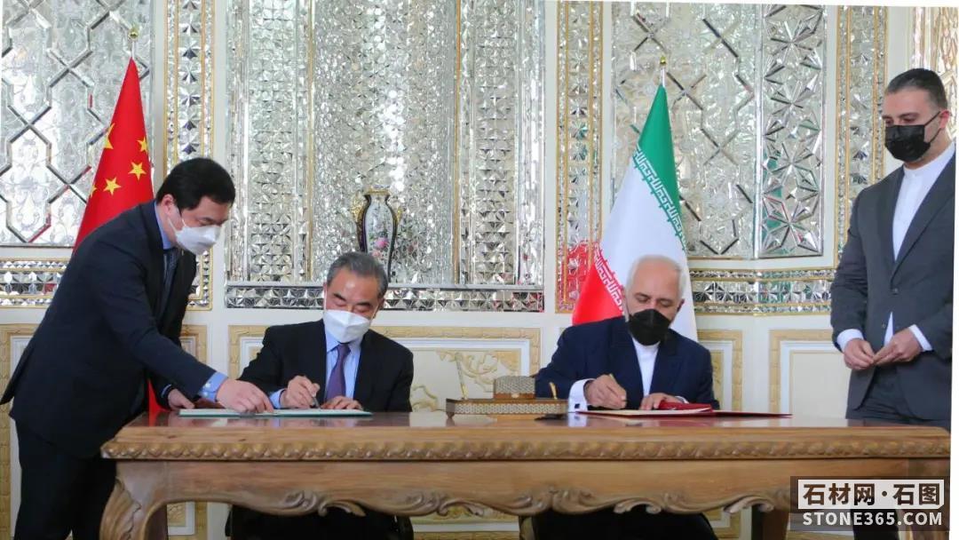 与我国全面协作协议一签25年,伊朗石材市场前景怎么?