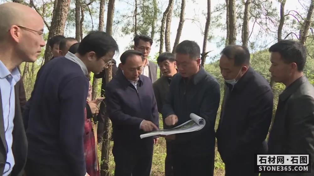 湖北大悟县加大力度推动大规模石材产业园及赤色小镇建造