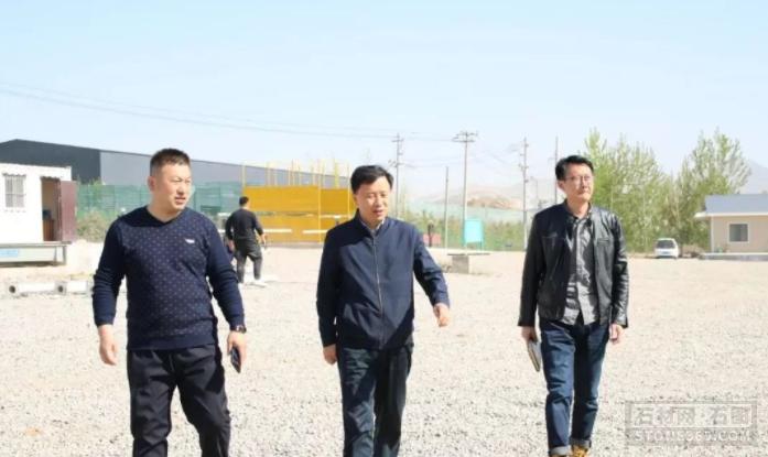五莲县超限超载卸货场正式启用——助力石材物流业安全开展!