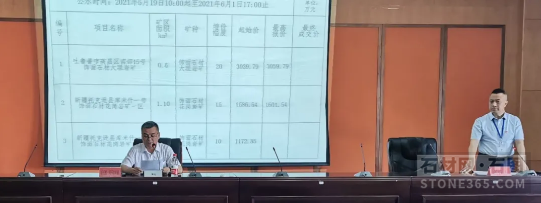 新疆吐鲁番市成功挂牌出让2宗饰面石材采矿权,成交价4661.33万元