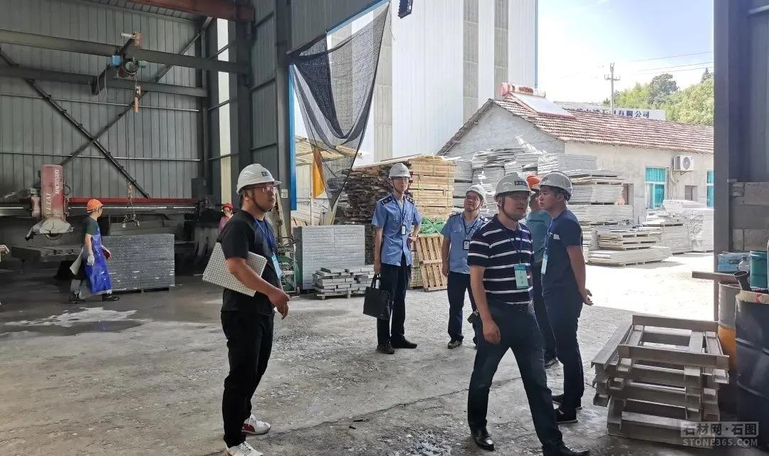 浙江石材停业整顿5家,宣布安全出产危险整改通知书40份