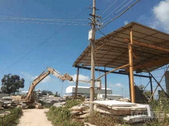重拳出击!泉州市石井镇展开石材企业污染整治举动