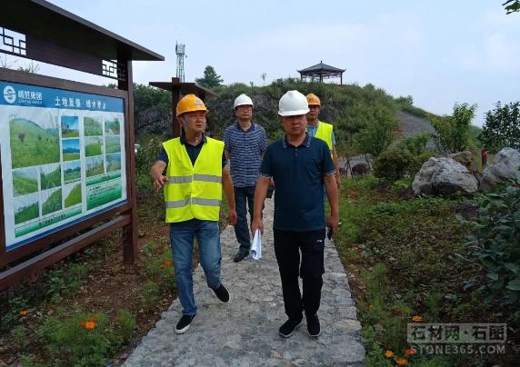 四川省自然资源厅作业组督导矿山生态环境修正作业