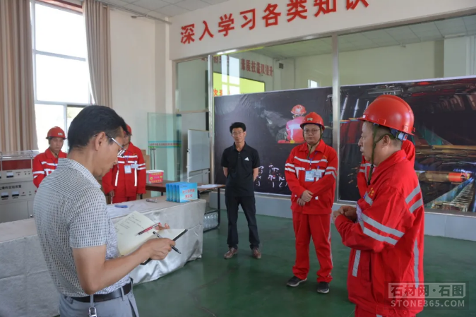 甘肃省白银市应急管理局到部分单位展开矿山安全训练专项查看
