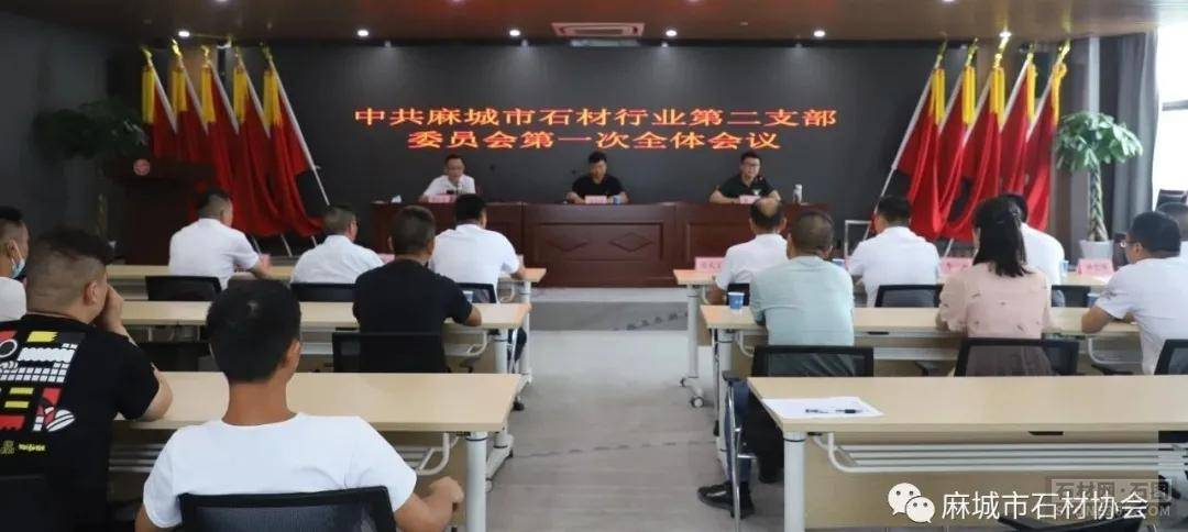 中共麻城市石材职业第二支部委员会推举大会顺畅举行