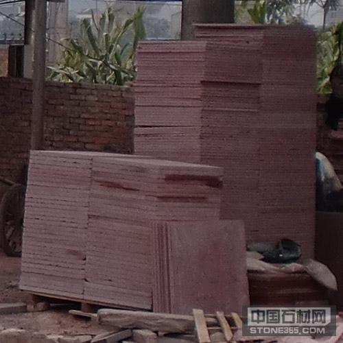 四川红石材,板材