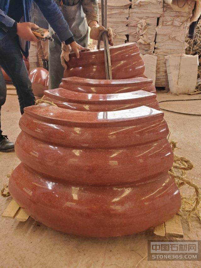 中國紅圓柱柱腳