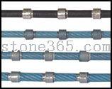 花岗岩异形切割串珠绳