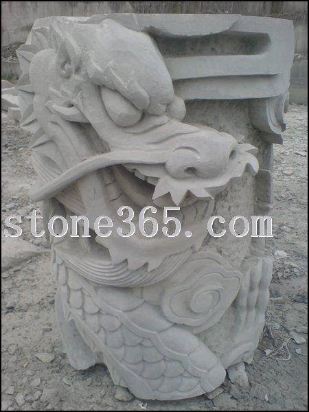 青石雕刻石材