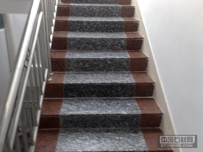 海浪花 浪花白 工程 楼梯