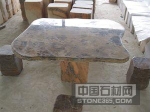 园林石桌凳