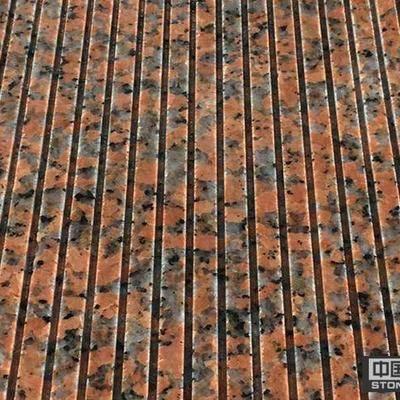 枫叶红拉丝面拉槽工程板材