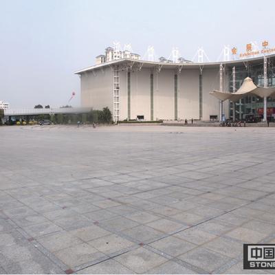 会展中心广场地面铺装