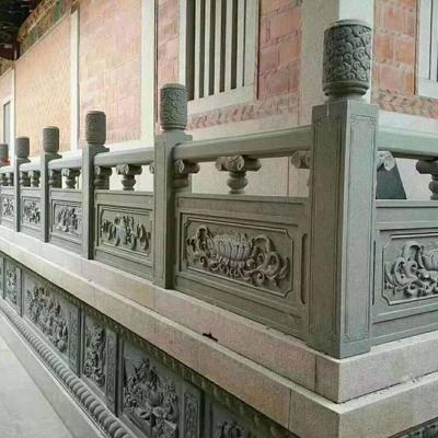 供应寺庙花园户外石栏杆