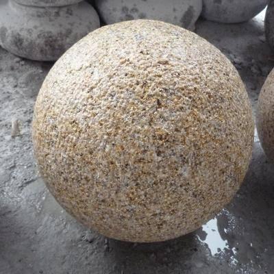 异形石材圆球挡车石