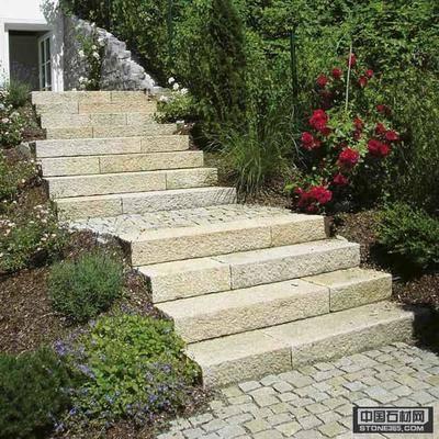 花岗岩阶梯