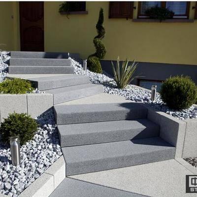 公园石材阶梯踏步