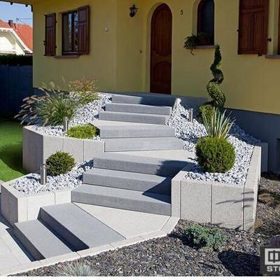 石材阶梯踏步