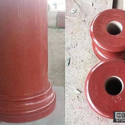 中國紅異型石材