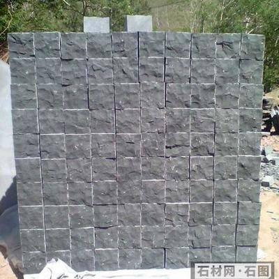 蒙古黑自然石