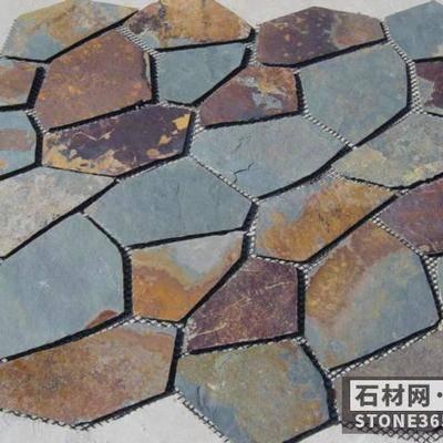 板岩网贴冰裂纹