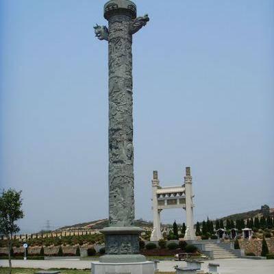 珠海石雕文化柱