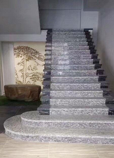 海浪花浪花白楼梯踏步