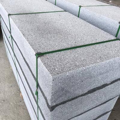 广西G614芝麻灰石材荔枝面板材加工