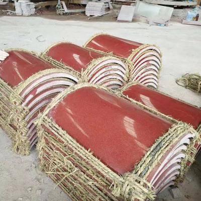 中国红瓦板 弧形板