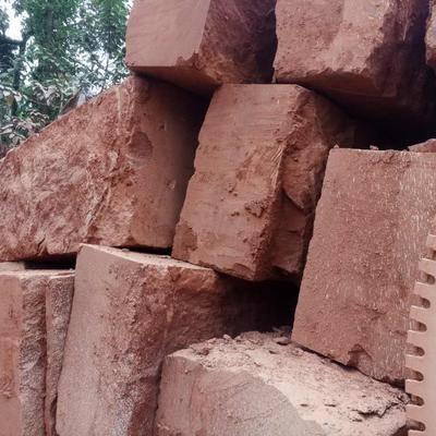 红砂岩荒料