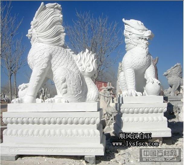 湖南汉白玉雕刻动物雕刻