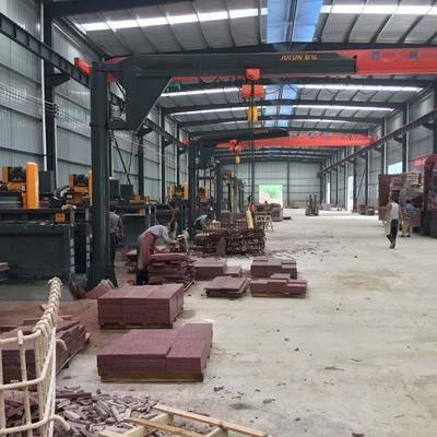 中国红石材火热投产