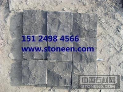 供应蒙古黑石材马蹄石