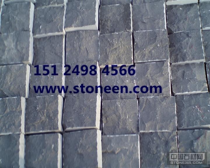 供应蒙古黑石材自然面