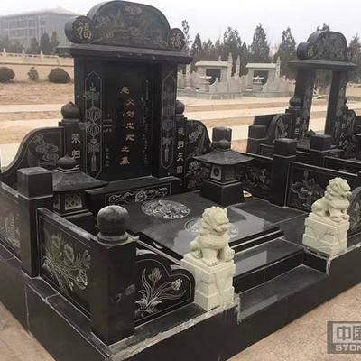 中国黑钻墓碑、黑色墓碑