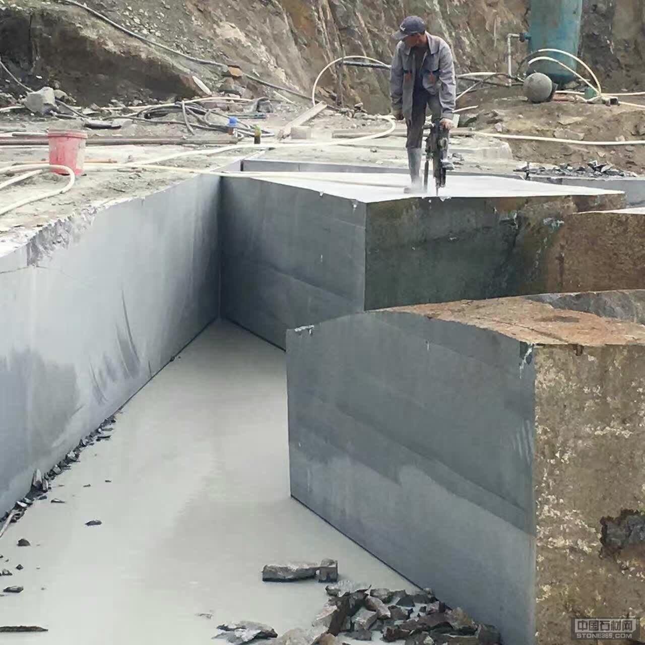 中国黑钻矿山展示