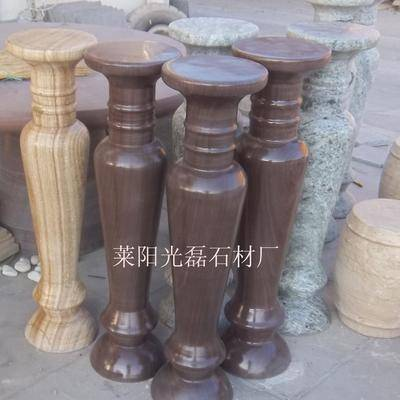 供應白砂巖花瓶柱 羅馬柱 柱子